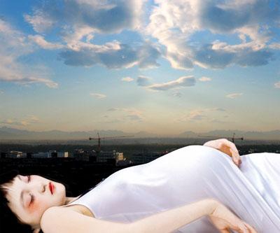 Angel No 13, C-print behind plexi, 2006 © Cui Xiuwen