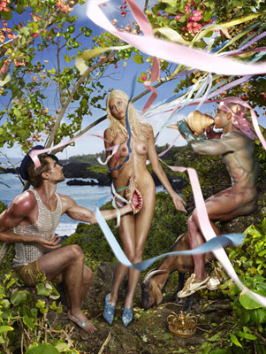 DAVID LACHAPELLE Birth of Venus 2009101,6 x 76,2 cm. 40 x 30 inches