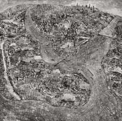 Diorama Map Istanbul, © Sohei Nishino courtesy Michael Hoppen Contemporary/EMON PHOTO GALLERY