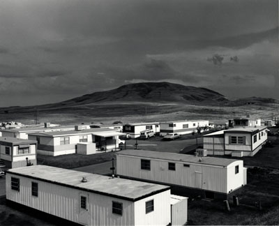 Robert Adams (American, b. 1937): MOBILE HOMES, JEFFERSON COUNTY, COLORADO, 1973George Eastman House collections© Robert Adams, courtesy of Fraenkel Gallery, San Francisco, and Matthew Marks Gallery, New York