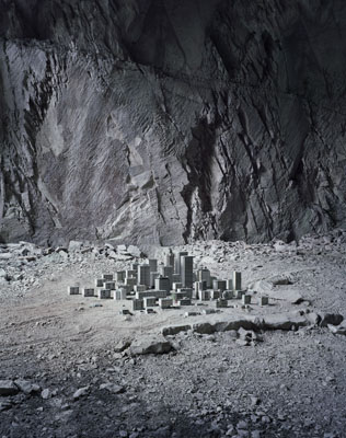Thomas Wrede, High-Rise Housing Estate II (Arco), 2009, Lambda Print Diasec, 190 x 150 cm