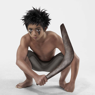 Anderson & Low, Untitled (Aqua Boy), 2009, Manga Dreams, courtesy of Hamiltons Gallery
