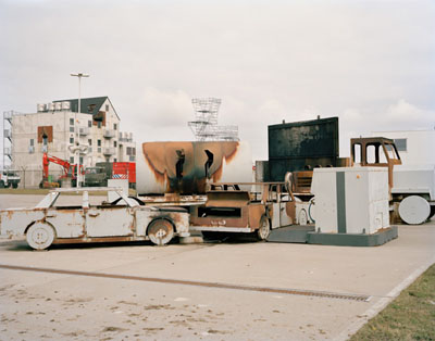 Schiphol Airport, Fire Training Area, 2010 © Dana Lixenberg
