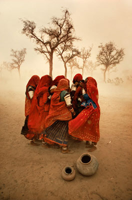 Dust Storm, Rajasthan, India 1982 © Steve McCurry
