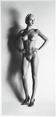 Helmut Newton, Big Nude I, Paris, 1980, © Helmut Newton Foundation, courtesy of Hamiltons Gallery
