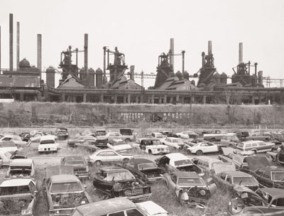 Ensley, Alabama, USA 1982© 2010 Bernd and Hilla Becher / courtesy Schirmer/Mosel