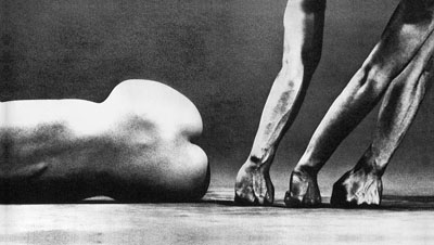 Man and Woman #24, 1960 © Eikoh Hosoe