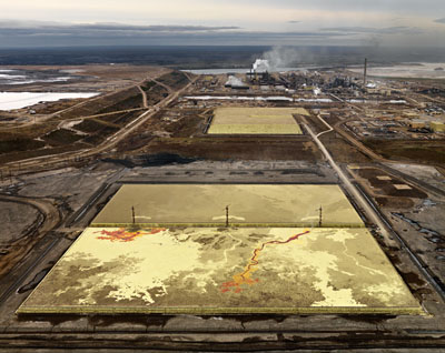 Edward BurtynskyAlberta Oil Sands #6, Fort McMurray, Alberta ,