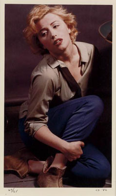 "Cindy Sherman, ""As Marilyn Monroe."" Chromogenic print, 1982., Estimate:$8,000-12,000"