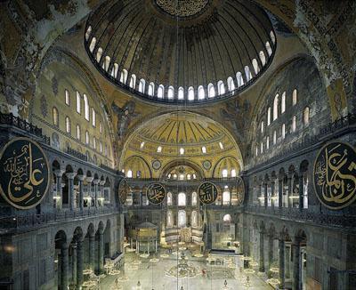 Ahmet ErtugHagia Sophia, Istanbul, Turkey, 2011C-Print180 x 207 cm, Edition of 3