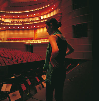 "YANG YONG: ""Beijing 2011 (On stage)""(2011) C-Print. 80 x 80cm - Edition of 8; 150 x 150cm - Edition of 3©Yang Yong. Courtesy of m97 Gallery."