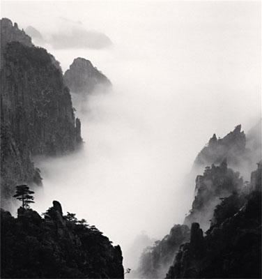 Michael KennaHuangshan Mountains, Study 8, Anhui, China, 2008Edition von 45Gelatin Silver Print, Sepia tonedca. 20 x 20 cm