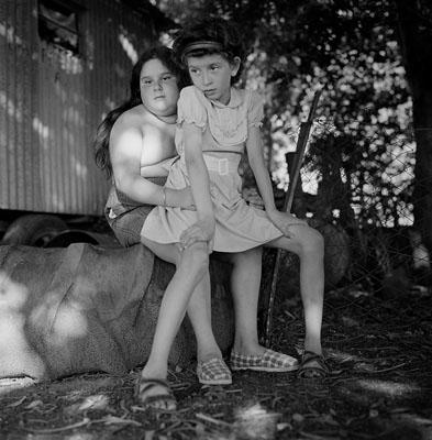 Belinda and Guillermina, Provincia de Buenos Aires, 1996© Alessandra Sanguinetti courtesy Magnum Gallery