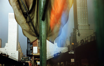 """3rd Avenue, Reflection"", New York City, USA, 1952"