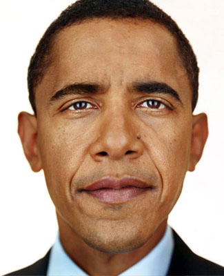 © MARTIN SCHOELLER, Barack Obama, Courtesy CAMERA WORK, Berlin