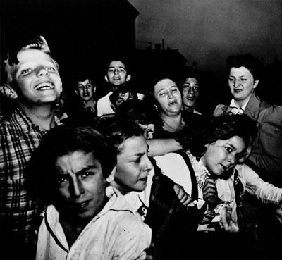 © WEEGEE/ICPIhr erster Mord 9. Oktober 1941