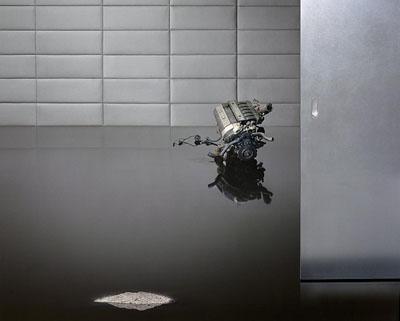 Beate Gütschow, Was entsteht wenn Perfektion ins kleinste Detail reicht, 2011, Light box, 121 x 151 cm, Courtesy Beate Gütschow, Barbara Gross Galerie, München; Produzentengalerie, Hamburg; Sonnabend Gallery, New York © VG Bild-Kunst Bonn 2011