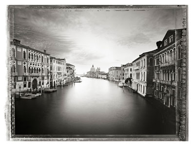 Canal Grande I, 2010, Archival pigment prints on Arches Cold Pressed Rag Paper, Large, in edition of 7, 40 5/8 x 53 1/8 in., Small, in edition of 25, 22 x 29 7/8 in.