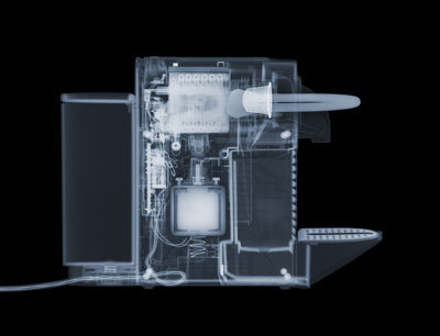 © Nick Veasey, Nespresso Machine, 2010. C-Type print