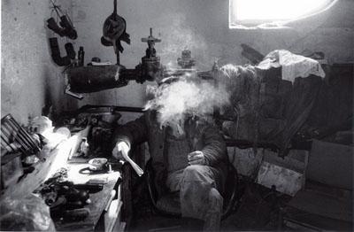 Rimaldas Viksraitis. Grimaces of the Weary Village. 1995. Gelatin Silver print.© Rimaldas Viksraitis. Courtesy: Anya Stonelake