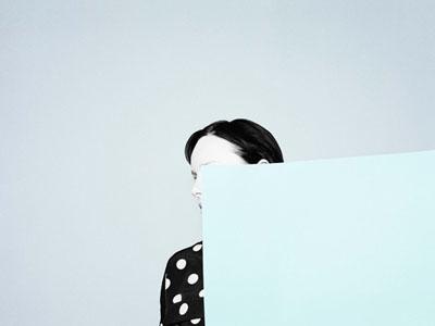 Blue paper, 2010 © Ina Jang