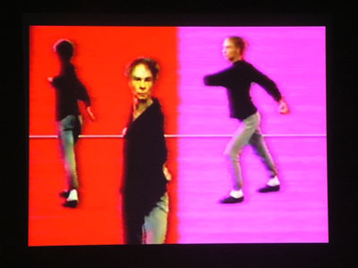 Nam June Paik. In collaboration with Charles Atlas, Merce Cunningham, and Shigeko Kubota