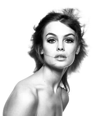 Jean Shrimpton, Juli 1965, von David Bailey, Bildrechte: ZDF / © David Bailey