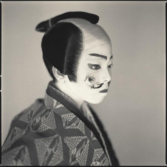 Ryota Nakajima as Mannojo, Matsuo Kabuki ©Hiroshi Watanabe
