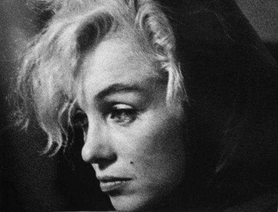 Melancholische Marilyn © Arnold Newman