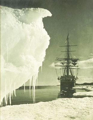 Terra Nova at the Ice-Foot, Cape Evans, 16 January, 1911