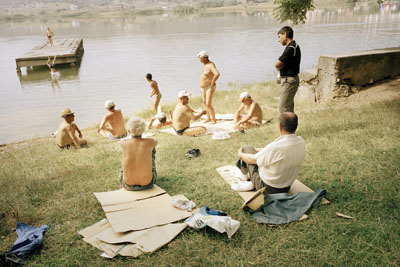Albanian Bathers, 2006 © Tom Craig, courtesy Flaere Gallery