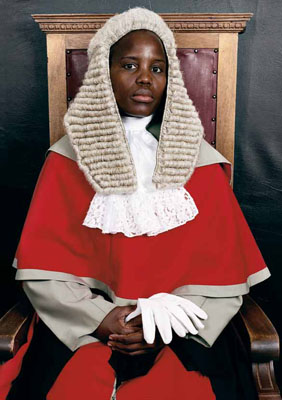 Pieter Hugo, The Honourable Justice Unity Dow. From the series Judges Botswana, 2005, © Courtesy of Stevenson Gallery, Cape Town / Yossi Milo, New York