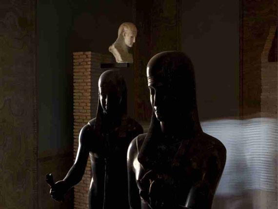 Christoph Brech: Museo Gregoriano Egizio, 2011Courtesy: Galerie FELDBUSCHWIESNER, Berlin