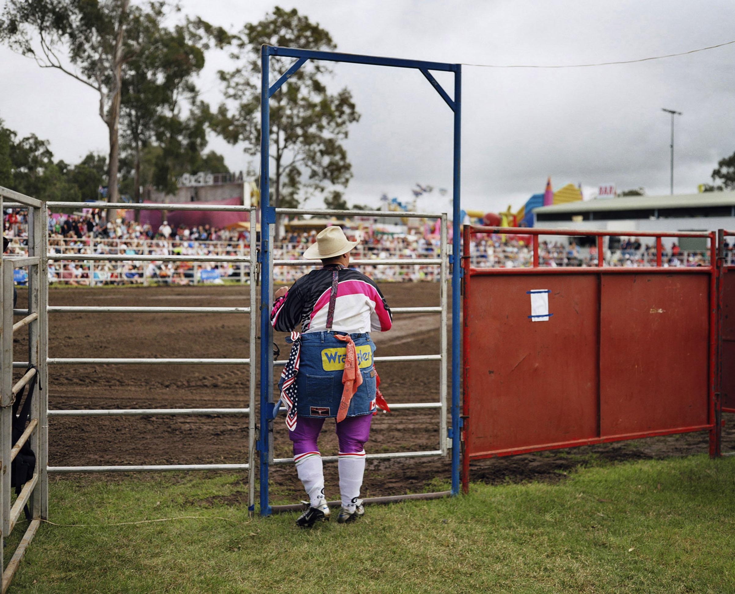Ein Cowboy in Brisbane, Australien, Copyright :ZDF / © Wim Wenders/Wenders Images
