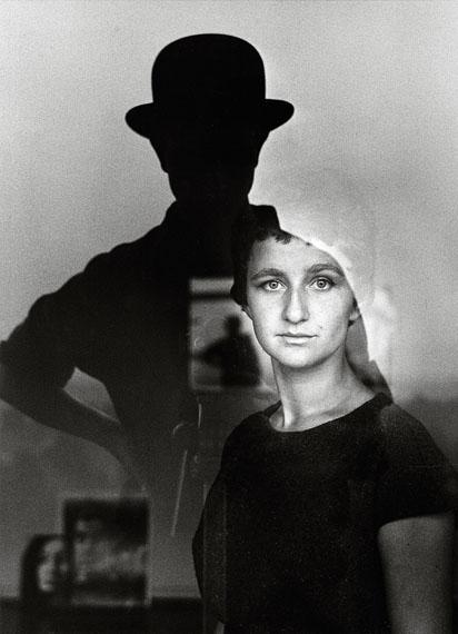 Guido Mangold: Selbstportrait mit Marta, Bonn, 1961
