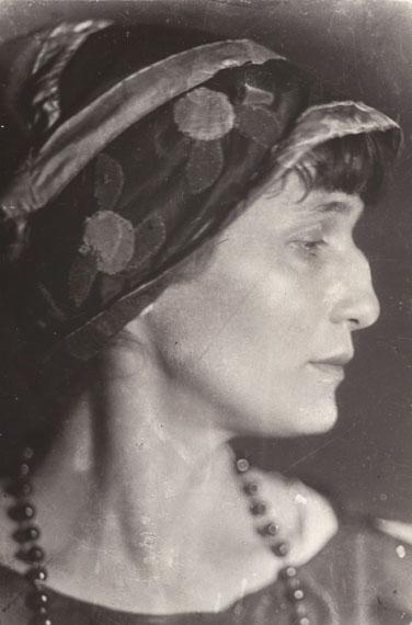 Anna Akhmatova, 1926, vintage print, 17,2 x 11,2 cm  © Nappelbaum Estate