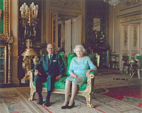 Thomas Struth: Queen Elisabeth II & The Duke of Edinburgh,Windsor Castle (2011) © 2011 Thomas Struth
