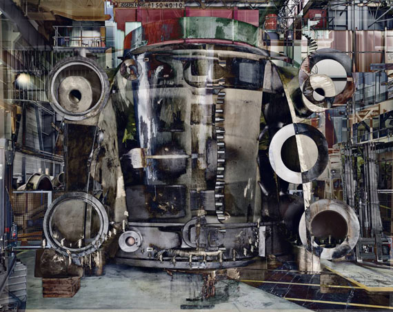 Stéphane Couturier (*1957, French)Photo n°2 Halle Power, from the series Melting Power (Usine Alstom – Belfort)2009C-Print with Diasec Face in Artist's Frame180 x 227 cm ( 70 7/8 x 89 3/8 in. )Edition of 5; Ed. no. 3/5© the artist, courtesy of Christophe Guye Galerie, Zurich (Switzerland)