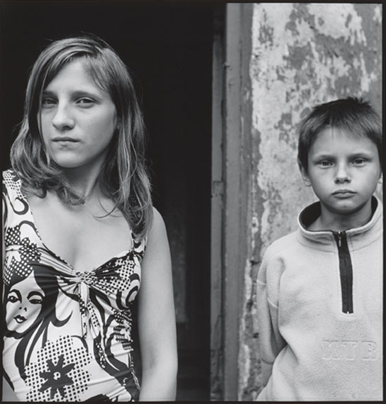"Inta RukaUdine Audijane, Lundis Zamerovskis, Riga, Latvia,2005aus der Serie: ""On the other side of the river""Silbergelatineabzug auf Barytpapier35 x 33,5 cmAuflage 7"