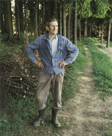 Bernhard Fuchs, Herr Ö., St. Peter am Wimberg, 1994, © Bernhard Fuchs 2012