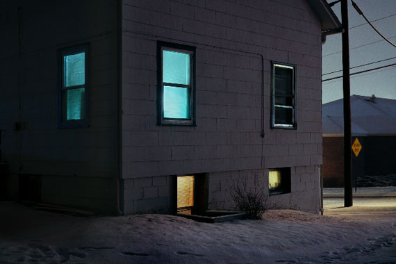 "Christian Patterson ""House at Night"" aus der Serie ""Redheaded Peckerwood"""