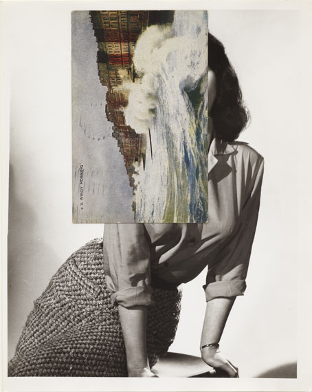 John Stezaker Siren Song V 2011 Collage, 25.7 x 20.3 cm Courtesy of the artist and The Approach, London