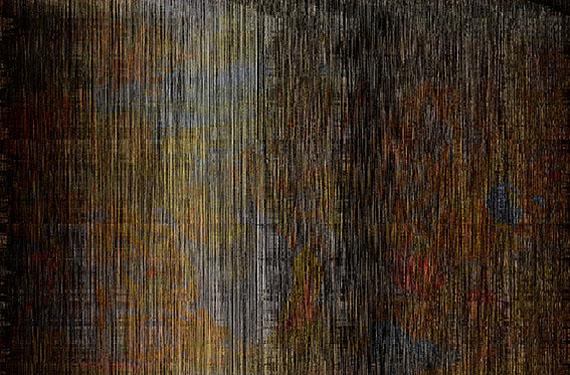 Tobias Trutwin, Kindsmord, 160 cm x 105, 2 cm, Glas 2012