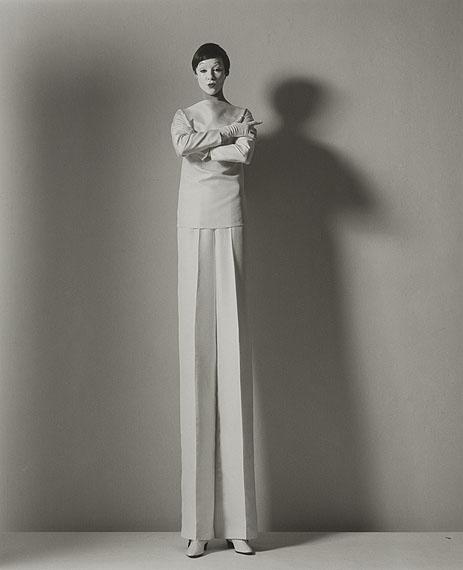 Horst P. Horst  Tall Fashion, 1964 Silver Gelatin Print  50 x 40 cm  © Horst Estate