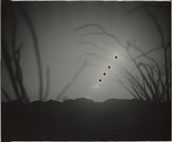 "Chris McCaw: Sunburned GSP#597 (Mexico), 2012, 20""x24"""