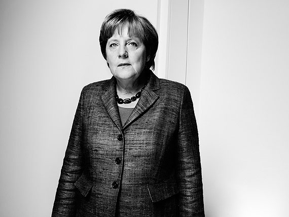 Anatol Kotte, Angela Merkel, Berlin, 2012, Silver Gelatin Print, 30x40 cm, Edition 6