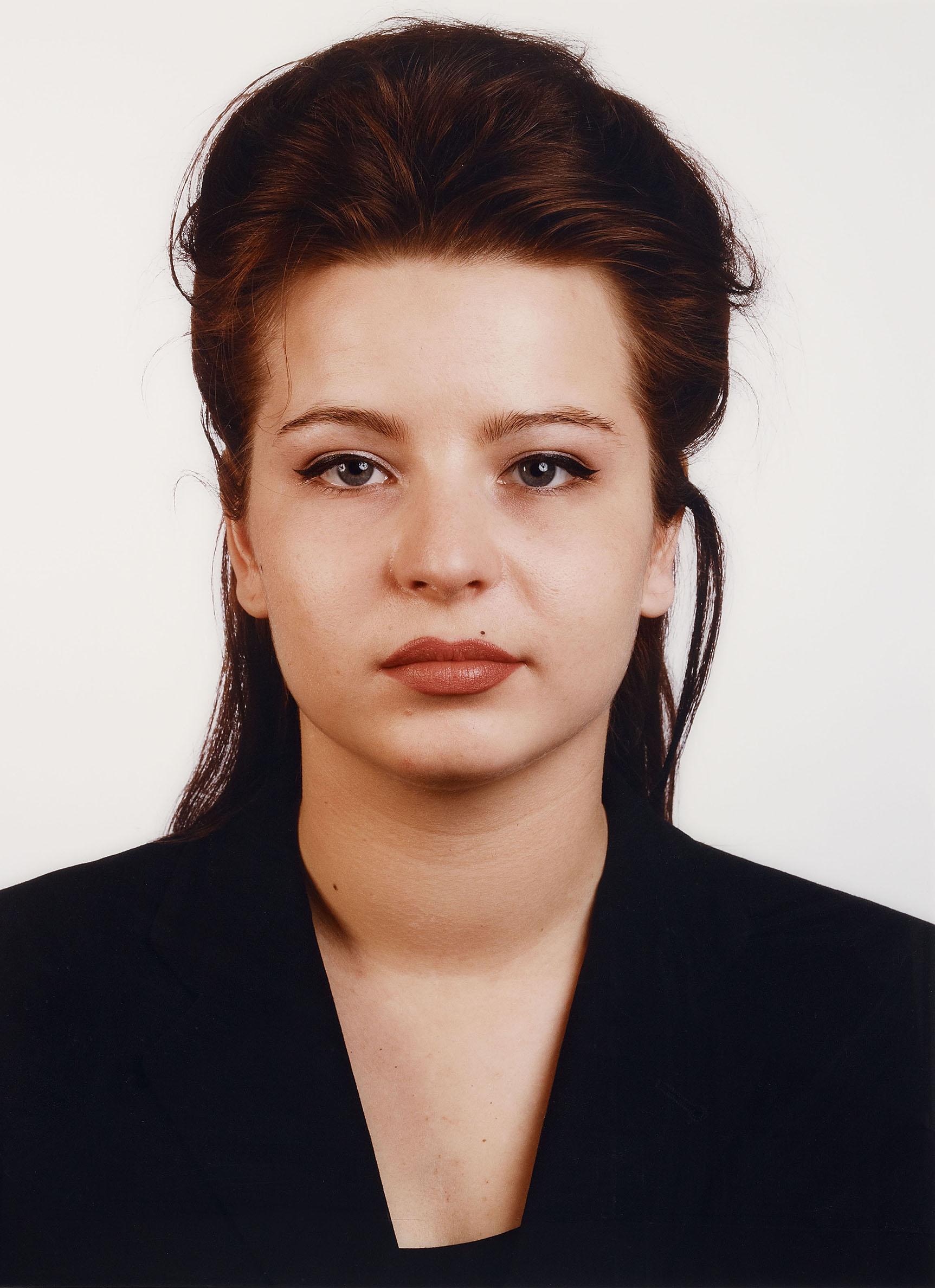 Thomas Ruff, Portrait (J. Renzel), 1988. Chromogenic print, face-mounted to plexiglass, 159.5 x 120.2 cm, Estimate € 25,000 – 30,000