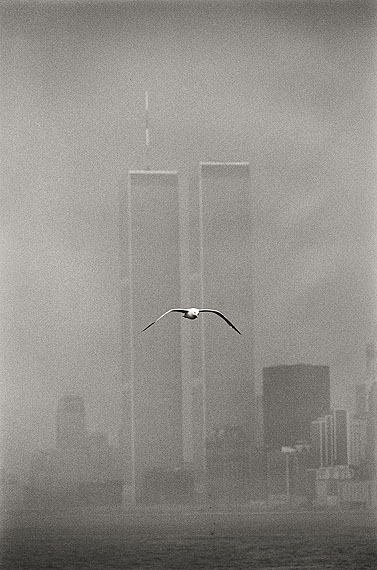 Louis Stettner: 'Twin Towers, Lower Manhatten' 1979 © Louis Stettner