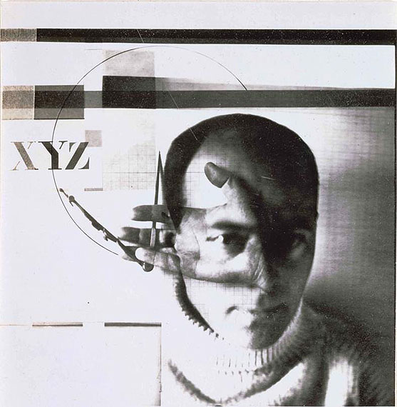 El Lissitzky: Selbstporträt mit Zirkel, 1924ARTE France / © BPK, Berlin, Dist. RMN-GP / image SKD