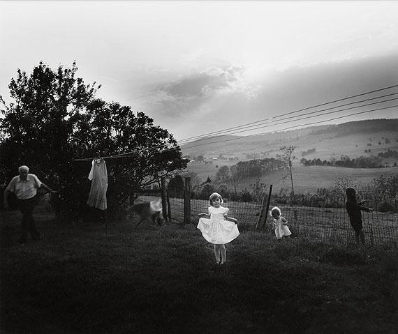 Lot 369:Sally Mann, Easter Dress, silver print, 1986. Estimate $8,000 to $12,000. © Sally Mann